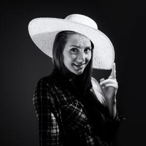 Lucia Blašková - V klobúku